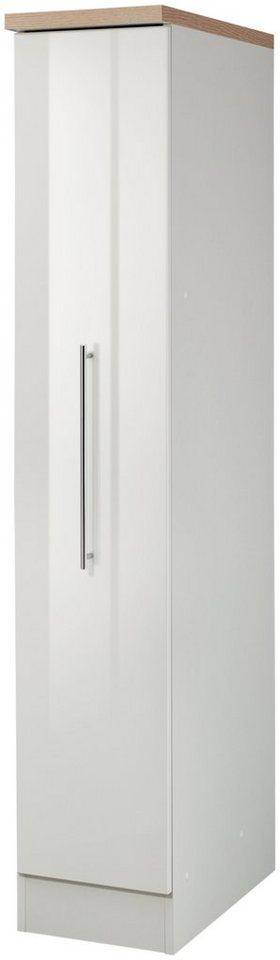 HELD MÖBEL Apothekerschrank, Höhe 165 cm in weiß