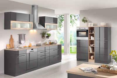HELD MÖBEL Küchenzeile Mit E Geräten, Breite 440 Cm