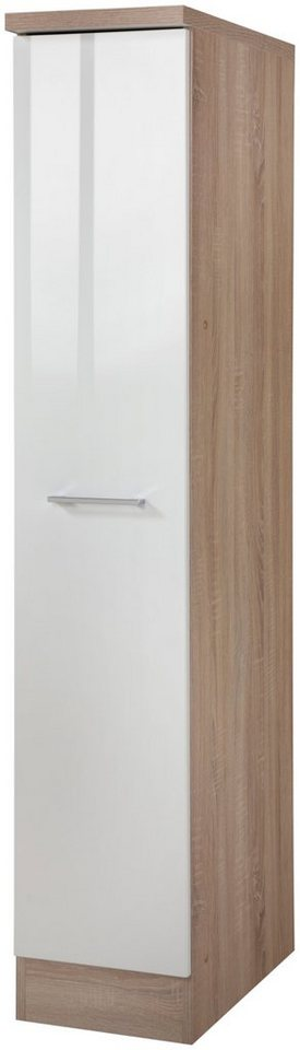 Held Möbel Apothekerschrank »Prato, Höhe 165 cm« in weiß