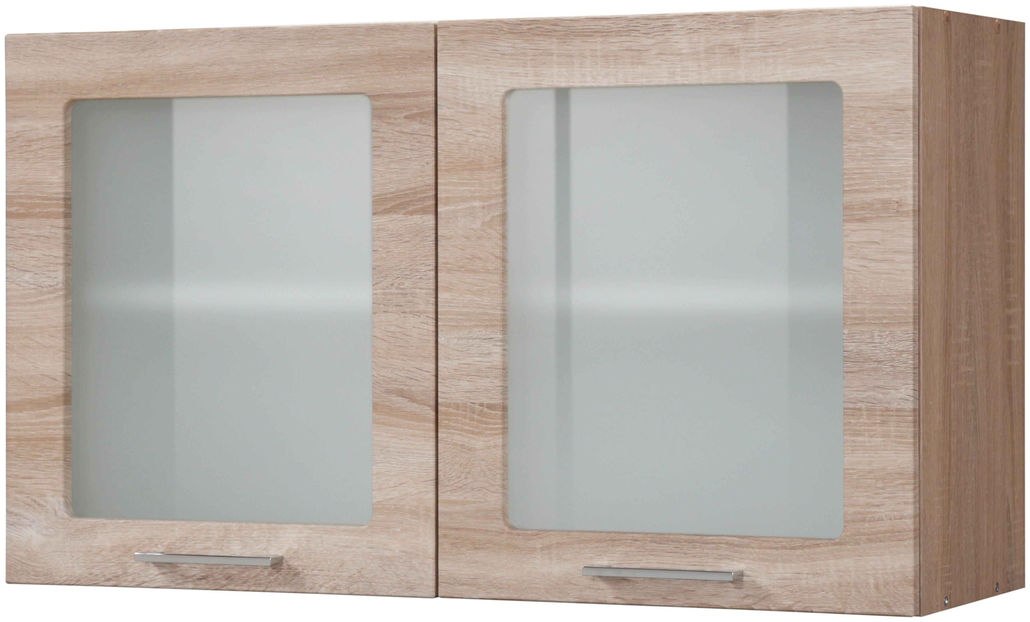 Held Möbel Glas-Hängeschrank »Prato, Breite 100 cm«