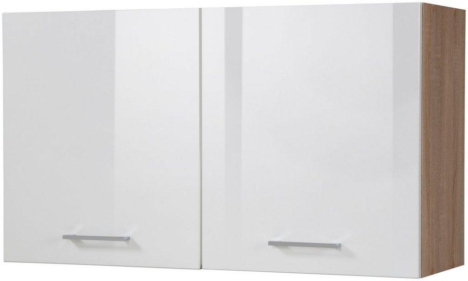 Held Möbel Küchenhängeschrank »Prato, Breite 100 cm« in weiß