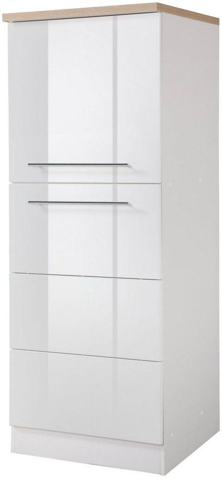 HELD MÖBEL Vorratsschrank, Höhe 165 cm in weiß