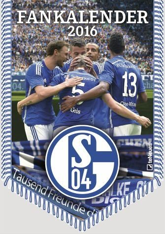 Kalender »FC Schalke 04 Bannerkalender 2017«