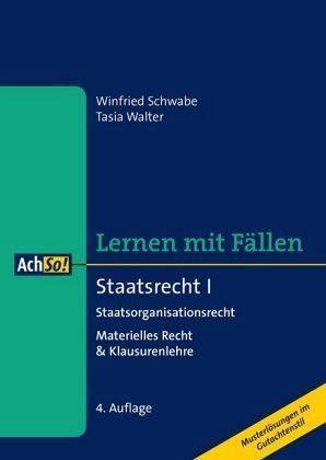 Broschiertes Buch »Staatsrecht I Staatsorganisationsrecht«