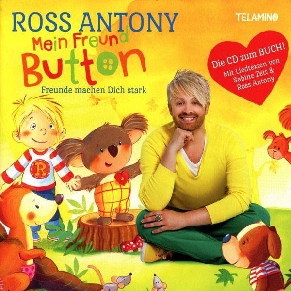 Audio CD »Antony,Ross: Mein Freund Button-Freunde Machen...«