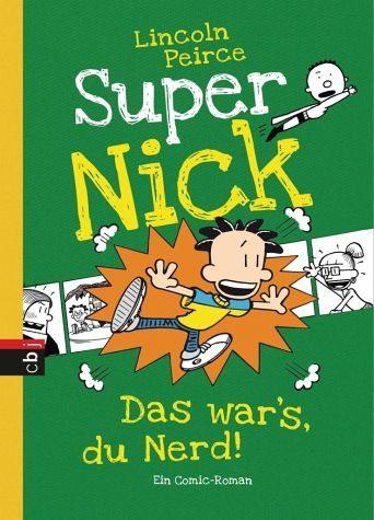 Gebundenes Buch »Das war's, du Nerd! / Super Nick Bd.8«