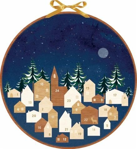 Kalender »Still erleuchtet jedes Haus. Wand-Adventskalender«