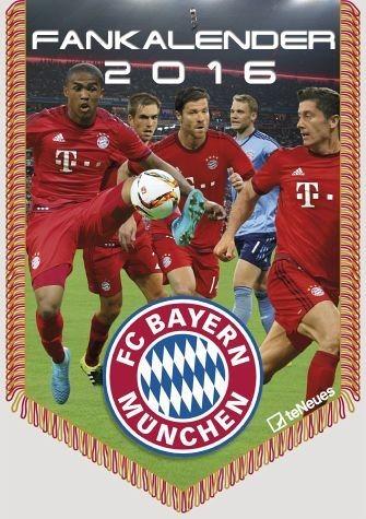 Kalender »FC Bayern München Mini-Bannerkalender 2017«