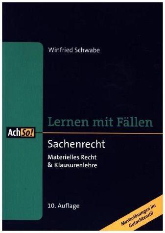 Broschiertes Buch »Sachenrecht«