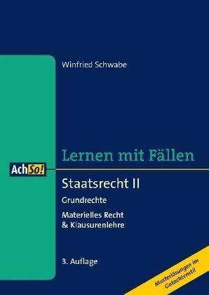 Broschiertes Buch »Staatsrecht II Grundrechte, Materielles Recht...«