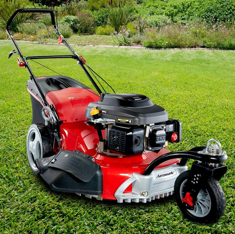 Benzin-Rasenmäher »BRM 46-141 A Trike-Dreirad« in rot