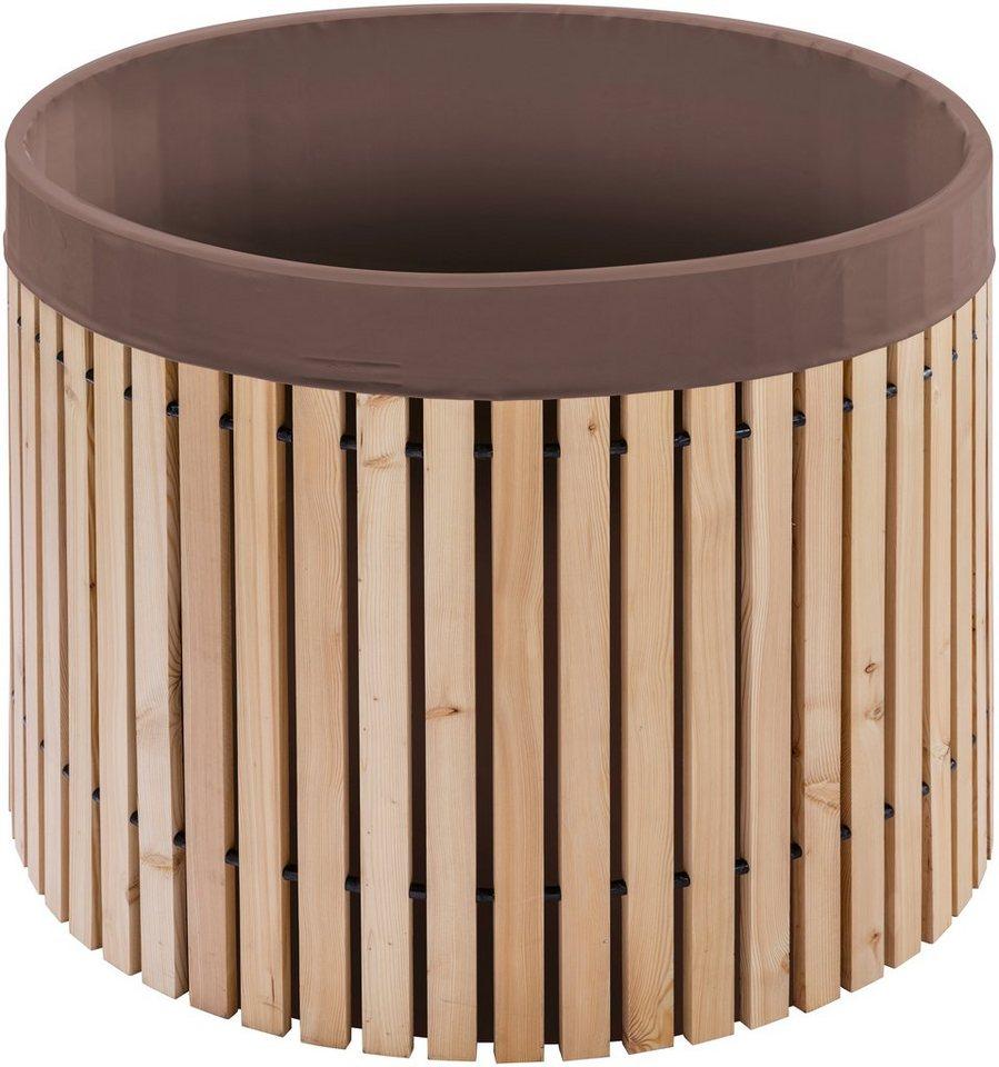 beckmann regentonne 800l fasswandung aus best ndigem l rchenholz online kaufen otto. Black Bedroom Furniture Sets. Home Design Ideas