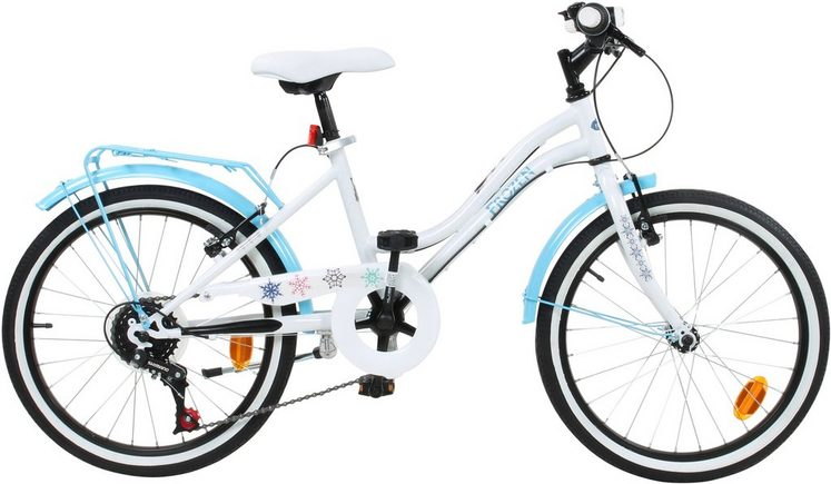 disney kinderfahrrad m dchen 20 zoll u brakes frozen. Black Bedroom Furniture Sets. Home Design Ideas