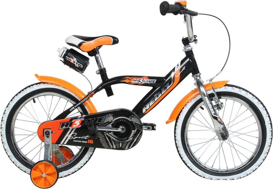 hi5five kinderfahrrad jungen 16 zoll v brakes rebel online kaufen otto. Black Bedroom Furniture Sets. Home Design Ideas