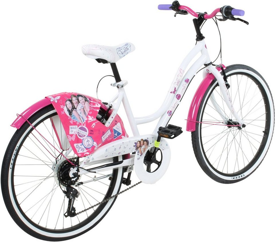 disney jugendfahrrad m dchen 24 zoll v brakes violetta online kaufen otto. Black Bedroom Furniture Sets. Home Design Ideas