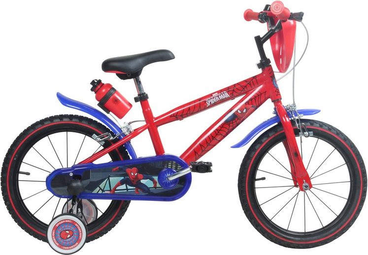 kinderfahrrad jungen 16 zoll u brakes spiderman. Black Bedroom Furniture Sets. Home Design Ideas