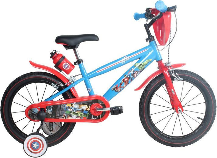 kinderfahrrad jungen 16 zoll u brakes avengers online. Black Bedroom Furniture Sets. Home Design Ideas