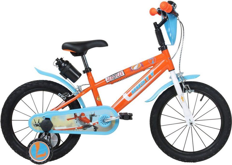 Disney Kinderfahrrad Jungen, 16 Zoll, U-Brakes, »Planes« in orange-hellblau
