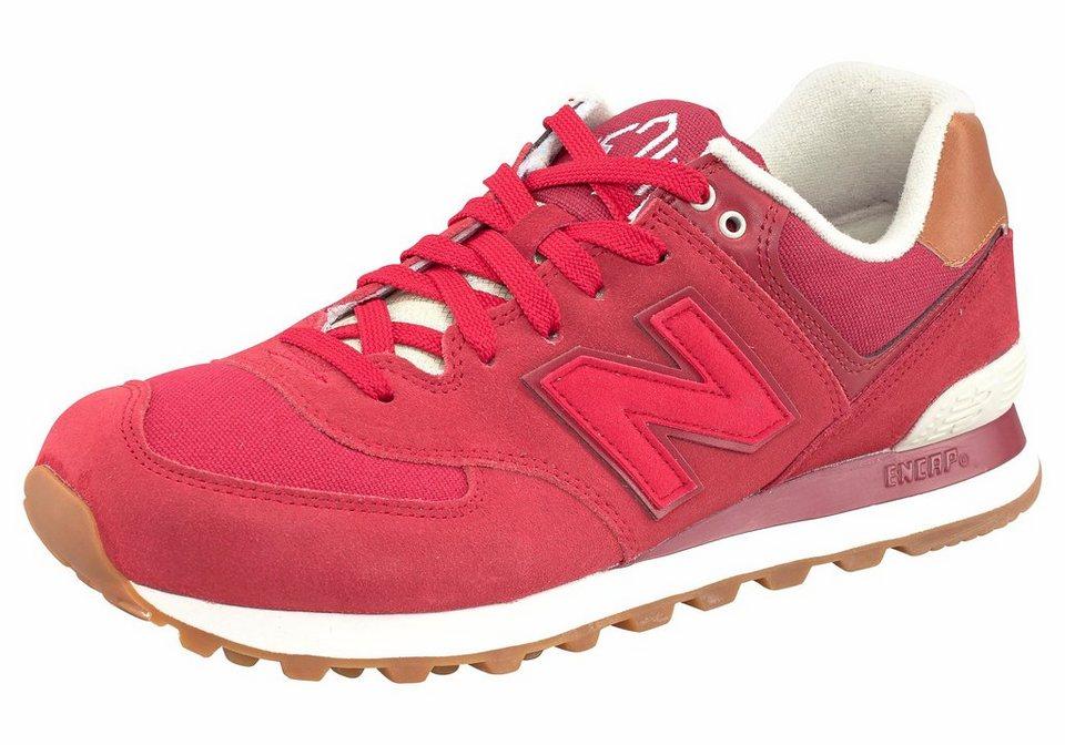 New Balance »ML574« Sneaker in rot