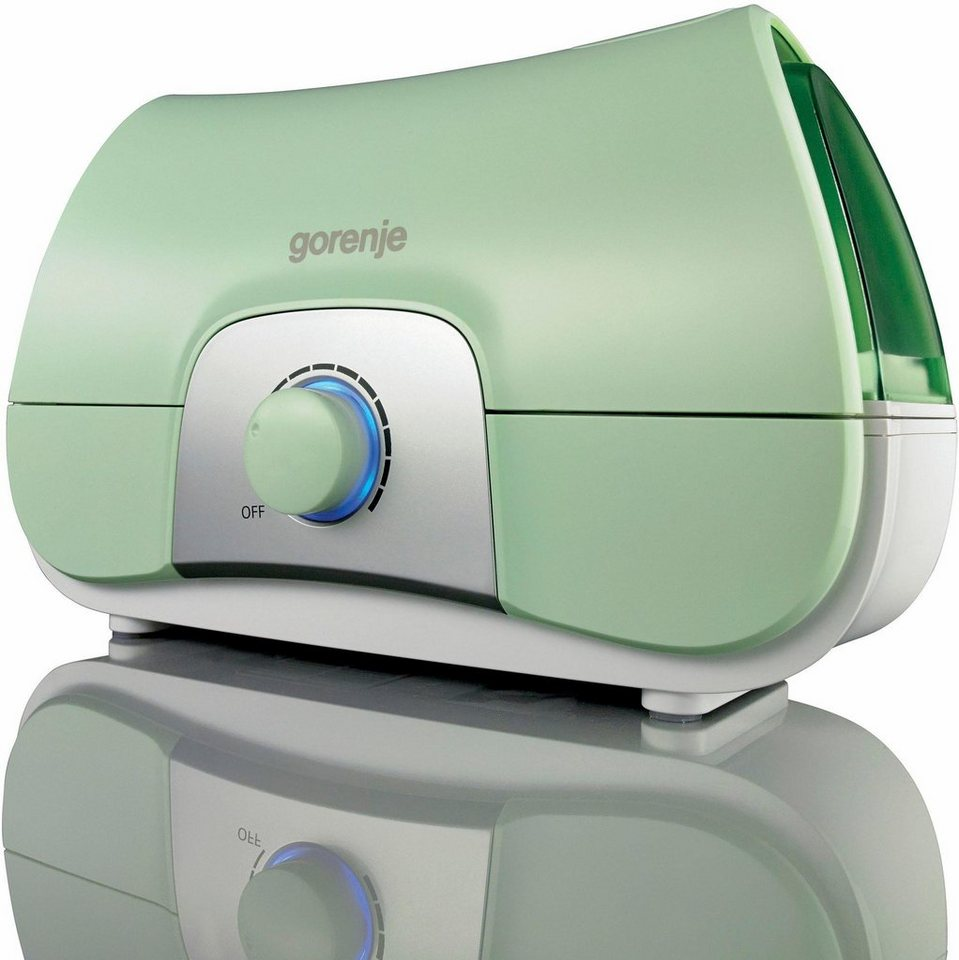 Gorenje Luftreiniger/Luftbefeuchter H17G Ultra Sonic, lichtgrün-silber in lichtgrün-silber