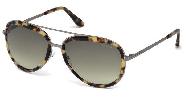 Tom Ford Herren Sonnenbrille » FT0468« in 53P - havana/grün