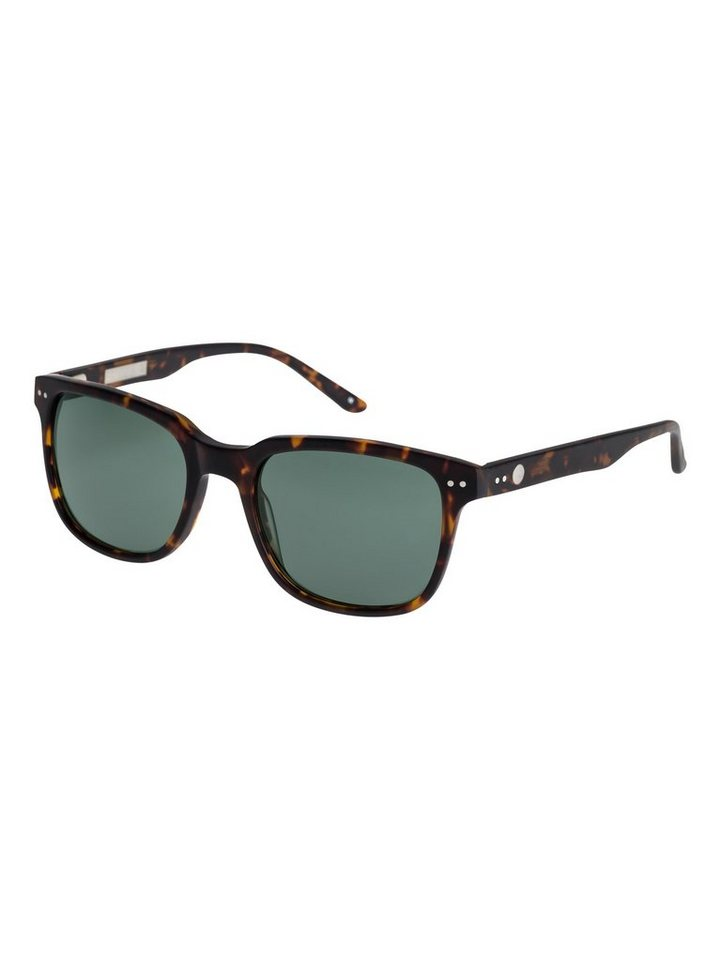 Quiksilver Sonnenbrille »Brixton« in Brown/green/green