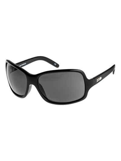 Sonnenbrille Kunststoff schwarz moderne Fassung schwarz