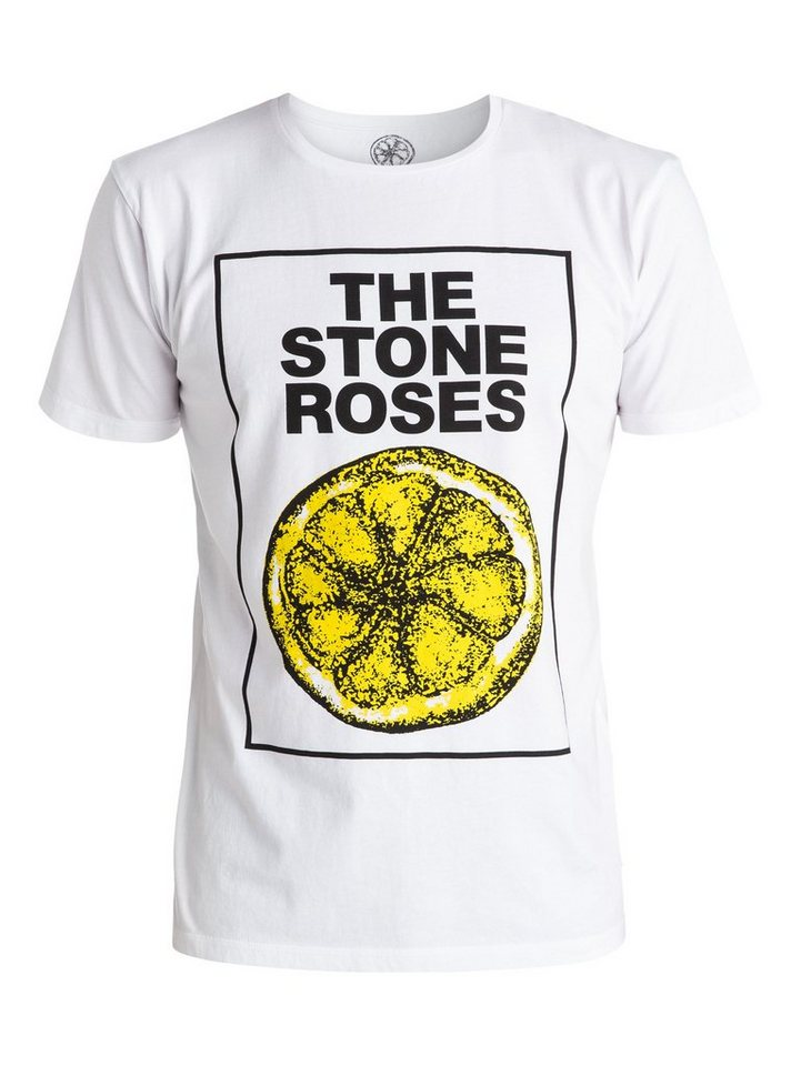 Quiksilver T-Shirt »Stone Roses Lemon« in Bright white