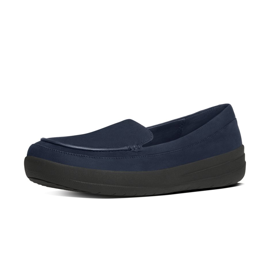 FitFlop »FitFlop F-SPORTY LOAFERS Supernavy« Slipper in navy