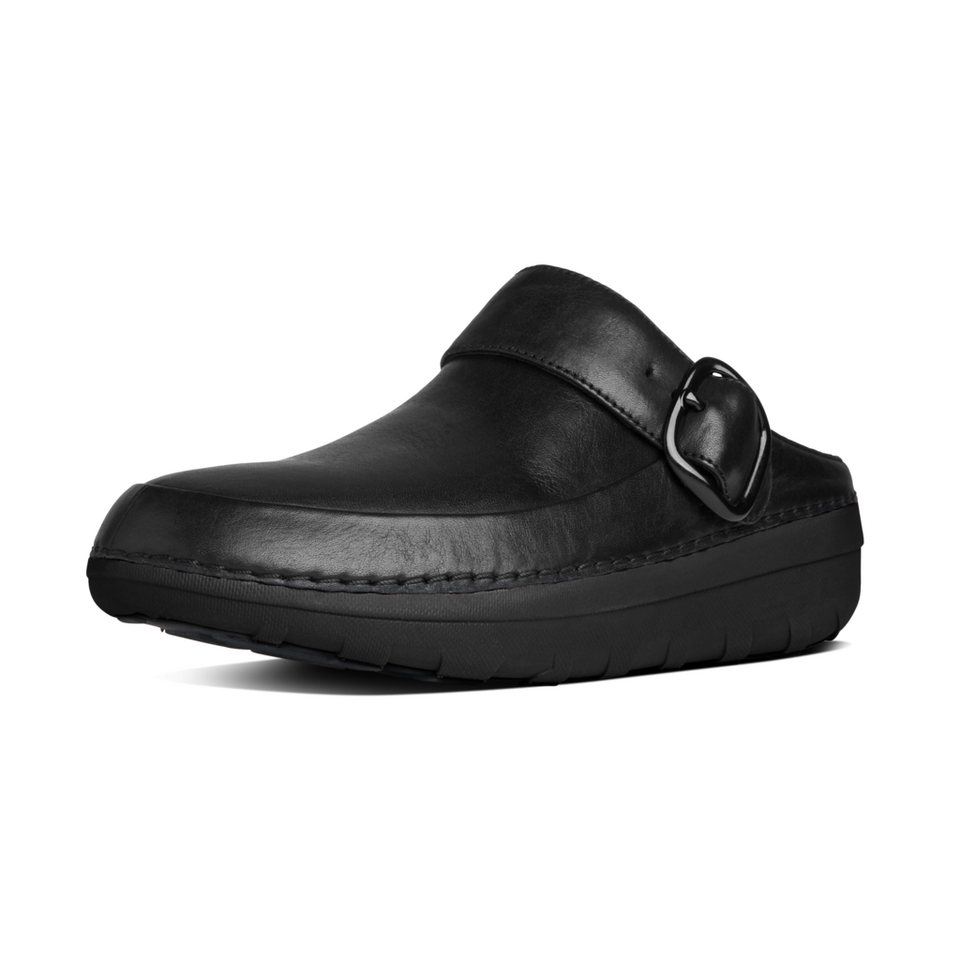 FitFlop »FitFlop Gogh Pro Black« Pantoffel in schwarz