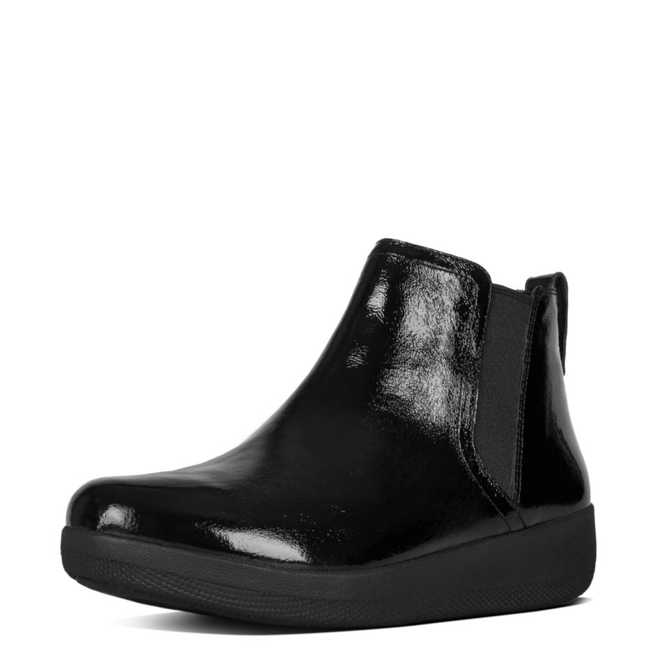 FitFlop »FitFlop SUPERCHELSEA BOOT All Black« Ankleboots in schwarz