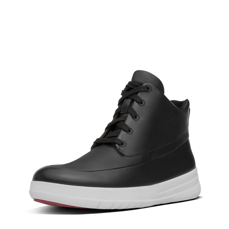 FitFlop »FitFlop SPORTY-POP HIGH-TOP Black« Sneaker in schwarz