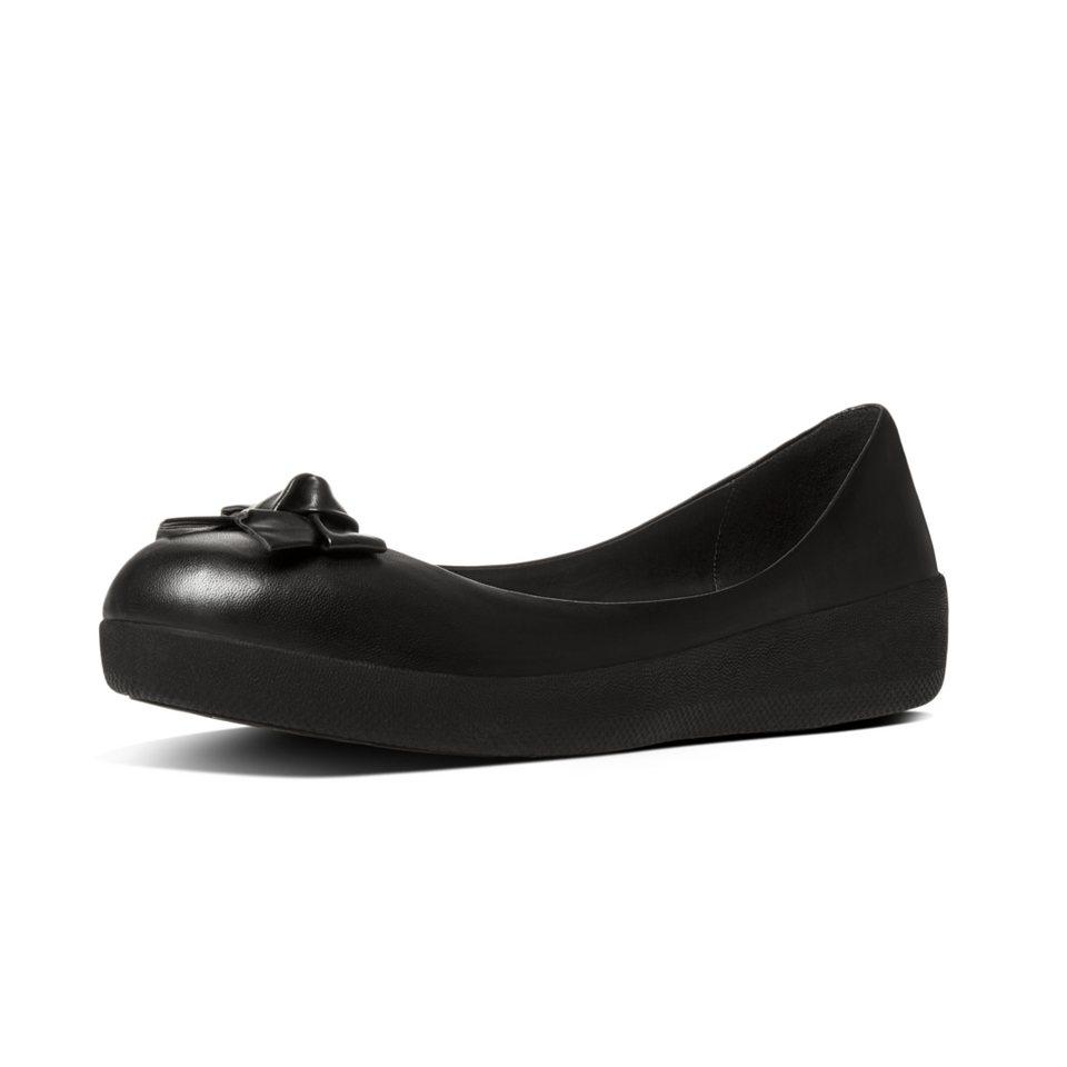 FitFlop »FitFlop PRETTY BOW SUPERBALLERINA Black« Ballerina in schwarz