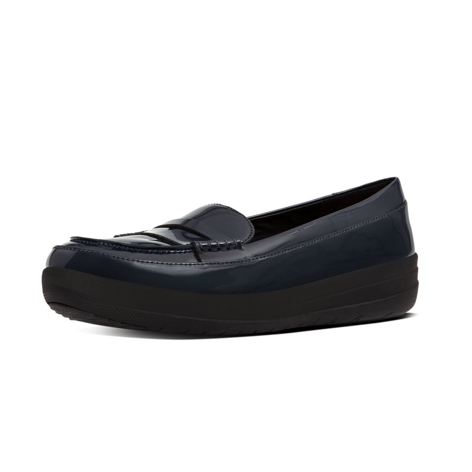 FitFlop »FitFlop F-SPORTY PENNY LOAFERS Supernavy« Slipper in navy