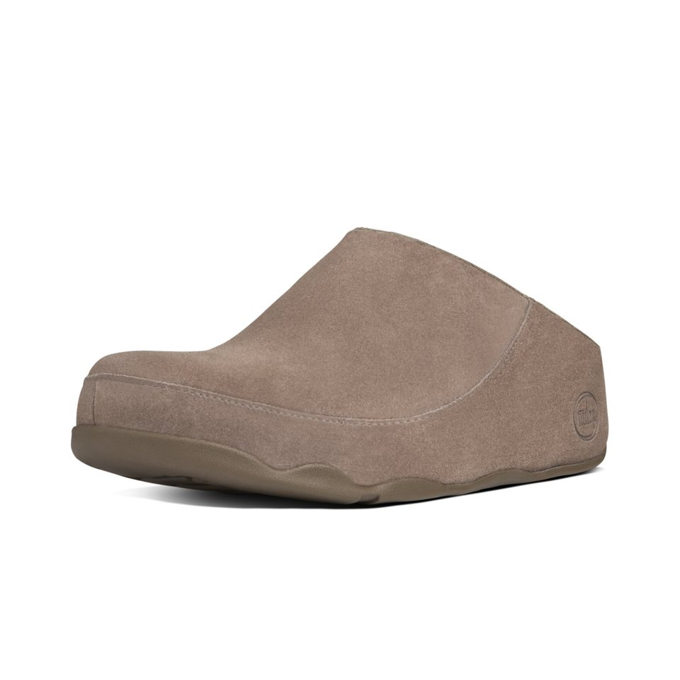 FitFlop »FitFlop GOGH MOC Dark Brown« Pantoffel in braun