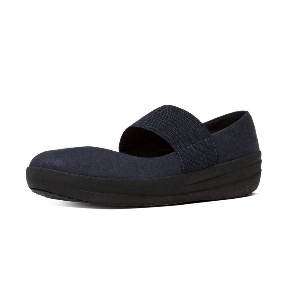 FitFlop »FitFlop F-SPORTY MARY JANE Supernavy« Ballerina in navy