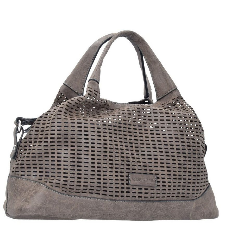 Gerry Weber From Miles Shopper Tasche 40 cm in taupe