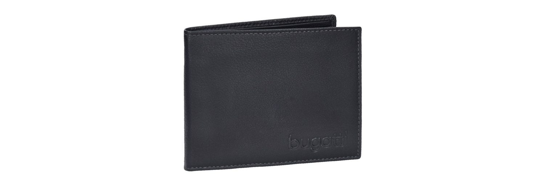 Bugatti Geldbörse Leder 12 cm