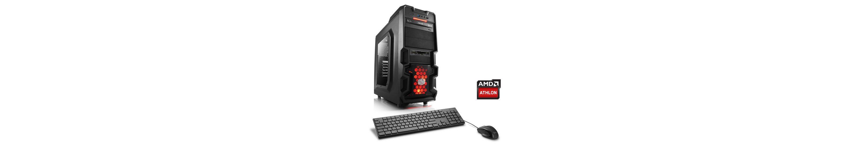 CSL Gaming PC AMD Athlon X4 880K | GTX 1060 | 8 GB RAM | 240 GB SSD »Levitas T4080 Windows 10«