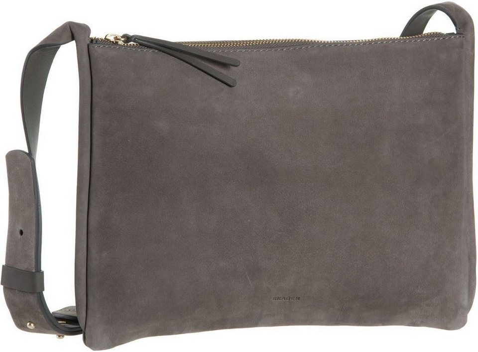 Skagen Anesa Slim Crossbody Mainsail in Heather Grey