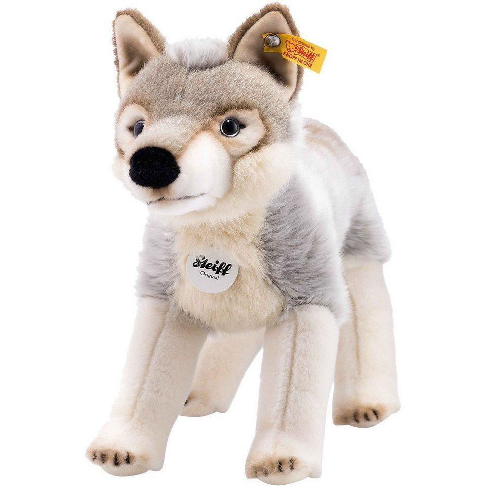 Steiff Snorry Wolf 32 cm, grau/weiss