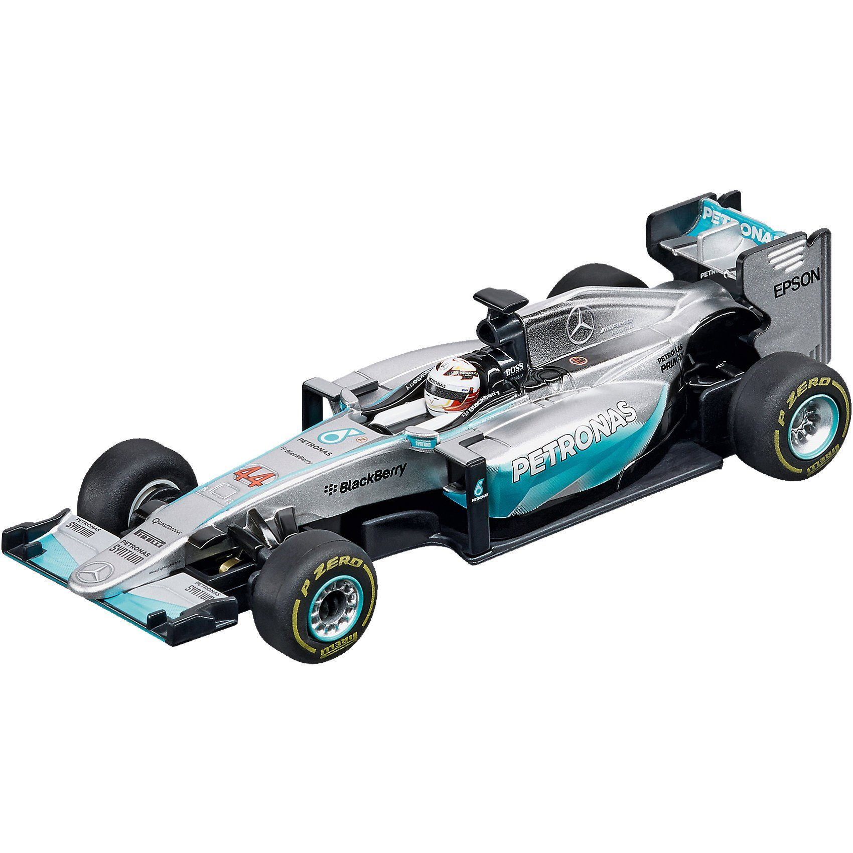 "Carrera Digital 143 41387 Mercedes F1 W06 Hybrid ""L.Hamilton, No.44"