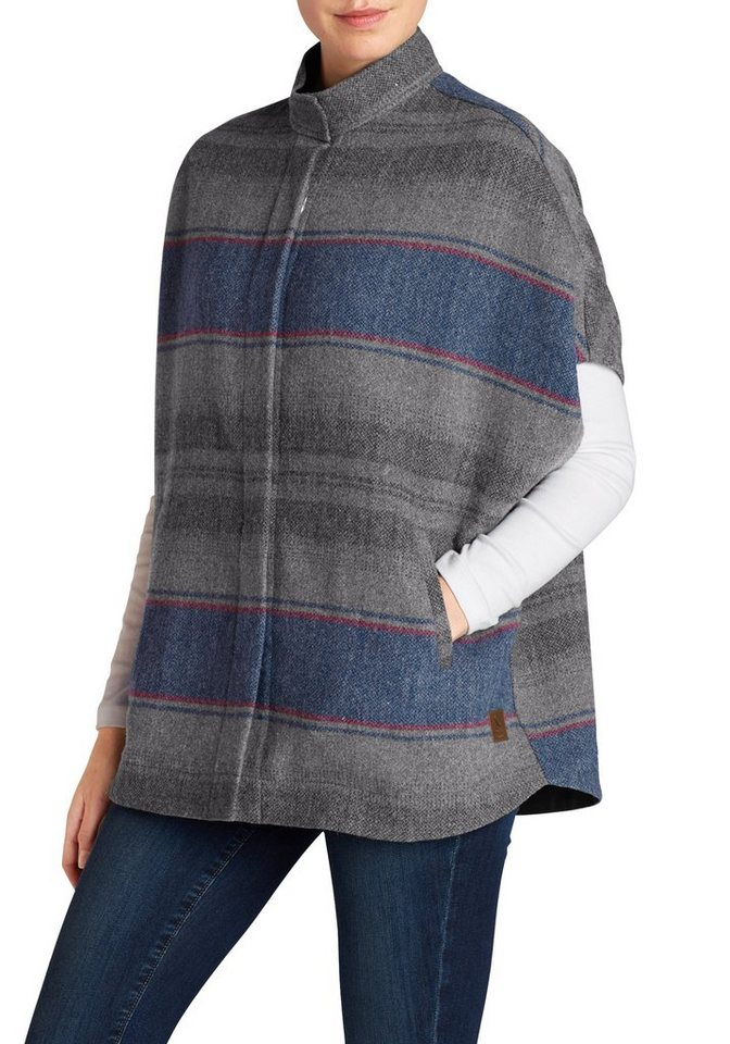 Eddie Bauer Poncho in Taupe