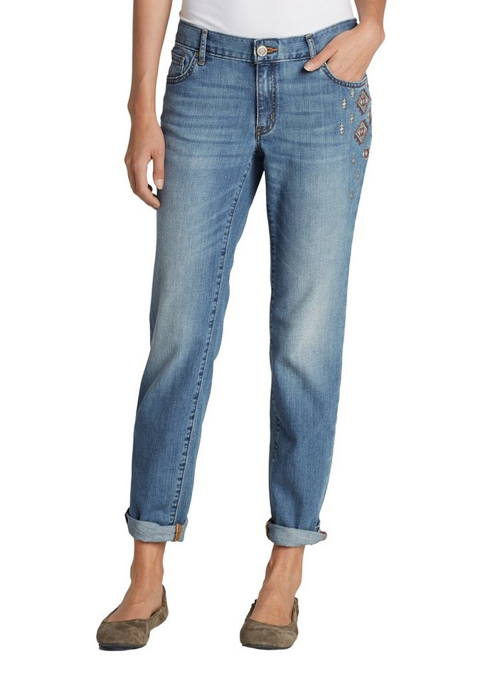 Eddie Bauer Boyfriend Jeans in Summit