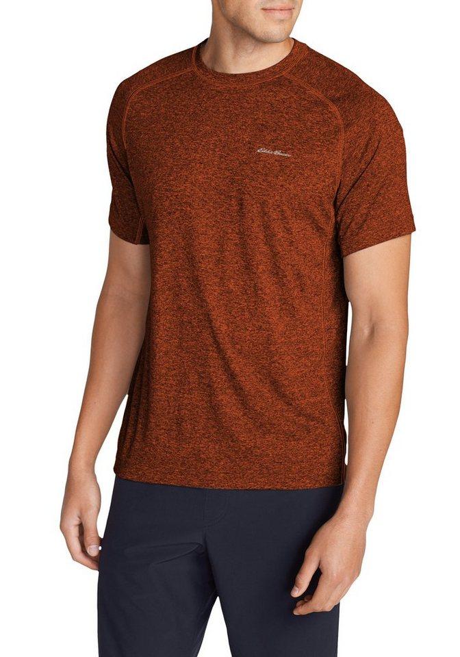 Eddie Bauer Resolution Shirt kurzarm in Rost meliert