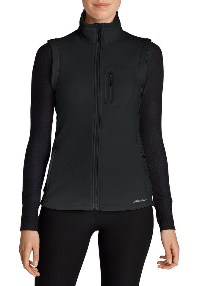 Eddie Bauer Cloud Layer® Fleeceweste in Schwarz