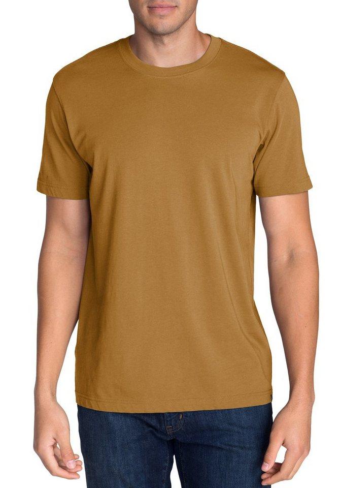 Eddie Bauer T-Shirt mit Rundhalsausschnitt in Cognac