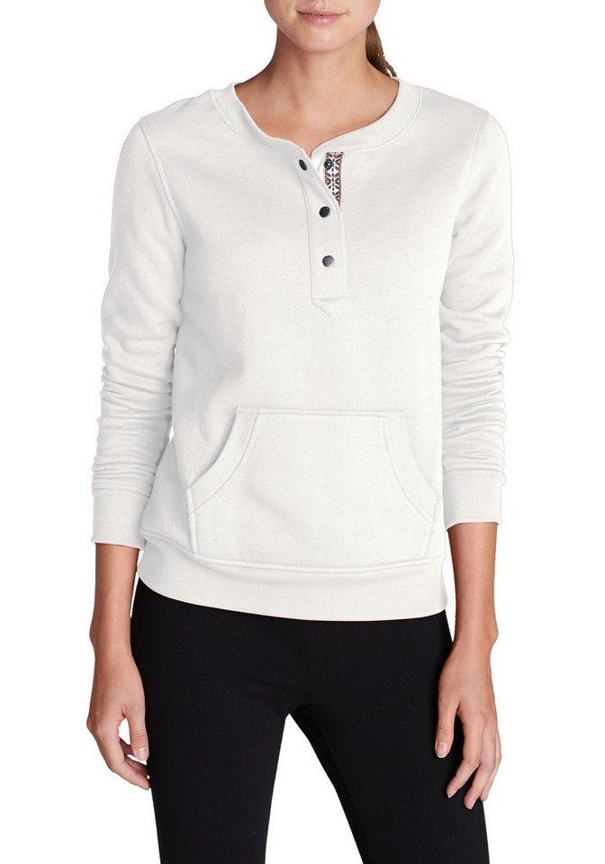 Eddie Bauer Sweatshirt in Weiß