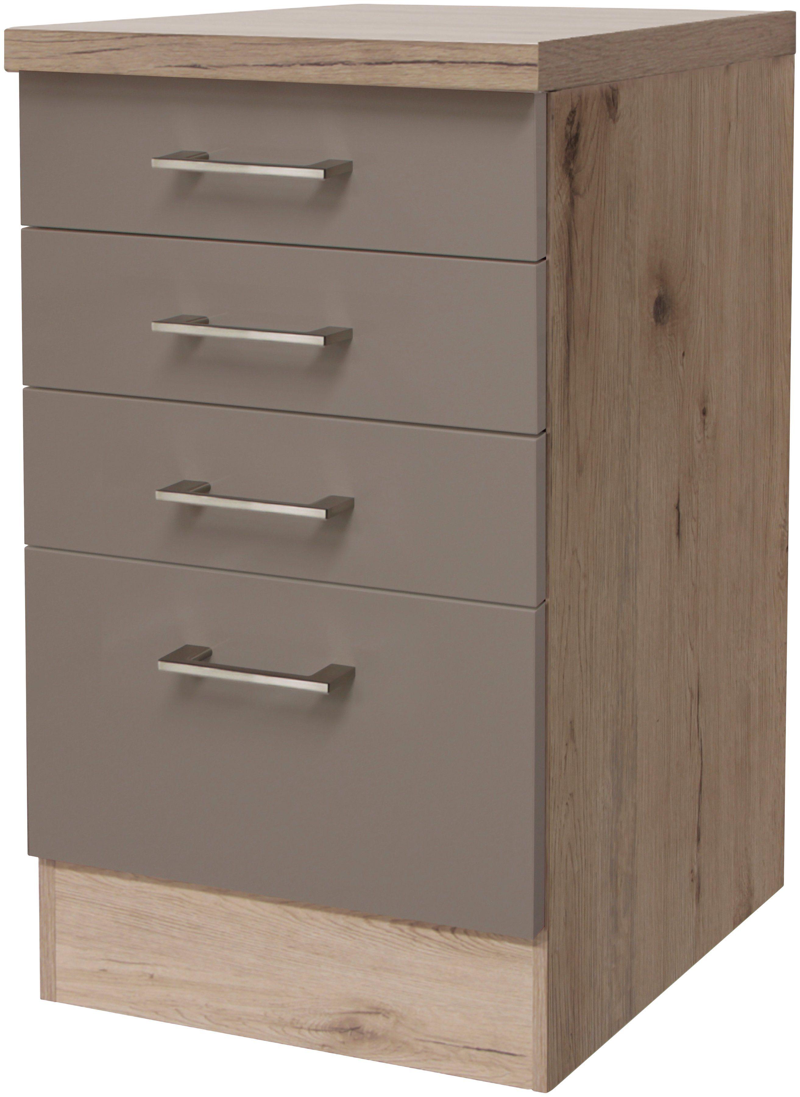 Küchenunterschrank »Riva, Breite 50 cm«