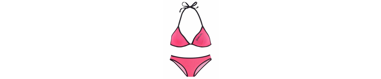 Bench. Triangel-Bikini mit modischer Kontrastpaspelierung Billig Verkauf Rabatt le5jO2xK